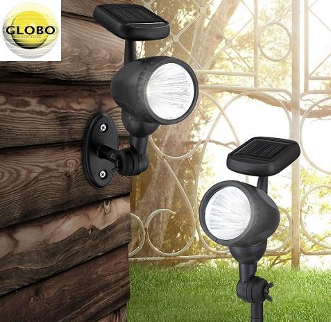 SOLARNA LED SVETILKA 3X0,06W IP44