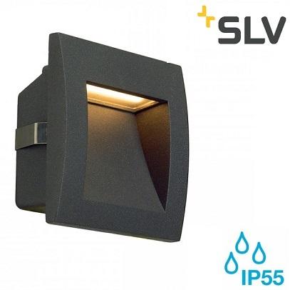VGRADNA LED SVETILKA DOWNUNDER OUT LED S 90X90 mm 1,7W IP55 V DVEH BARVAH