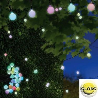 DEKORATIVNE RGB LED LUČKE NIRVANA 25X0,07W 5 METROV IP44