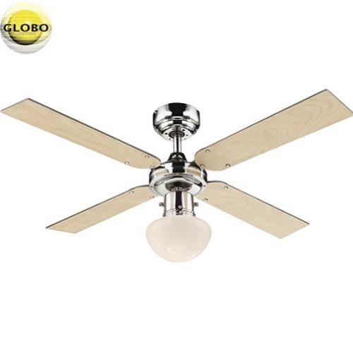 stropni ventilator s svetilko