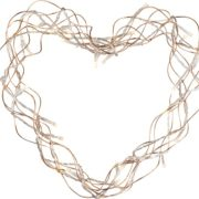 DEKORATIVNA LED SVETILKA HEART 300 mm 1,8W