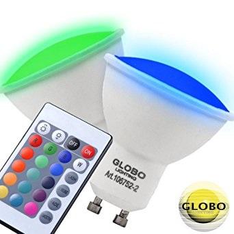 GU10 rgb led žarnice
