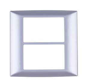 3x2-okvir-za-mini-modularna-majhna-stikala-srebrni