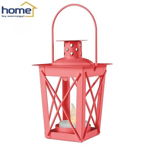 dekorativna-kovinska-led-lučka-laterna-viseča-namizna-rdeča
