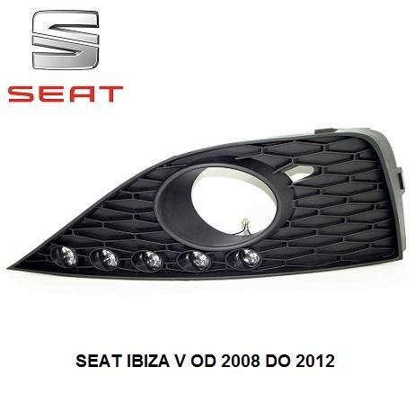 dnevne-led-luči-seat-ibiza-V-2008-2012
