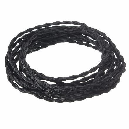 dvožilni-tekstilni-kabel-za-lestenec-črni