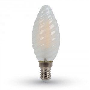 E14 FILAMENTNA LED SIJALKA ZAVITA 4W MAT 2700K, 4000K ALI 6400K
