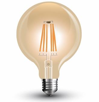 filamentna-retro-vintage-led-sijalka-fi-125-mm-2300k-jantarno-steklo-e27