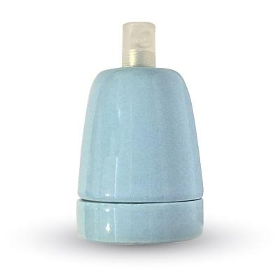 porcelanasto-keramično-podnožje-e27-za-visečo-svetilko-lestenec-e27-retro-vintage-starinsko-modro