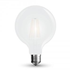 FILAMENTNA ZATEMNILNA LED SIJALKA E27 7W fi 95 mm MAT 2700K