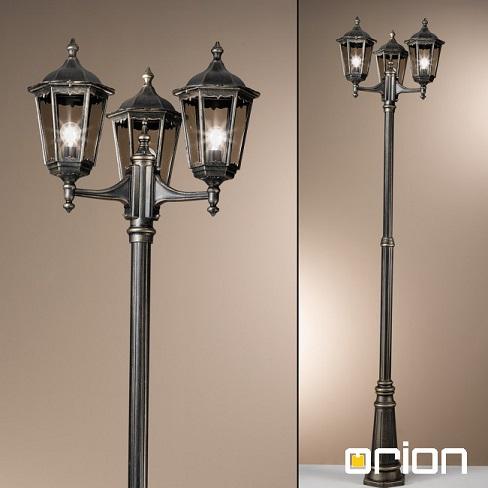 klasični-vrtni-ulični-trojni-steber-kandelaber-orion-črni