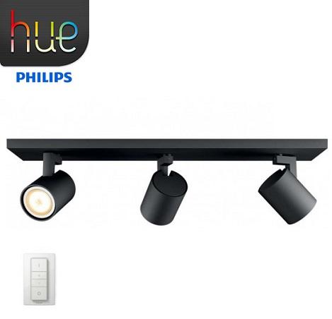 philips-hue-runner-led-zatemnilni-reflektor-z-brezžičnim-zatemnilnim-stikalom-črni