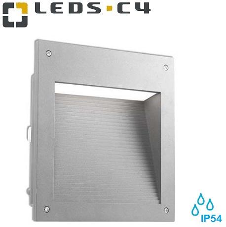 zunanja-vgradna-led-svetila-za-škarpe-stopnice-fasade-svetijo-navzdol-ip65-siva-varčna-26w-g24d