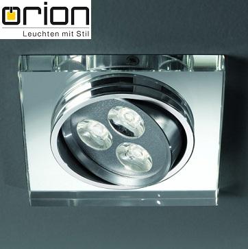 kvadratna-nastavljiva-vgradna-led-svetilka-zrcalno-steklo-orion
