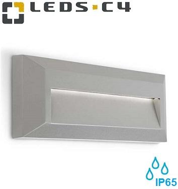nadgradne-zunanje-led-luči-svetilke-za-stopnice-škarpe-fasade-stene-navzdol-usmerjen-snop-ip65-sive