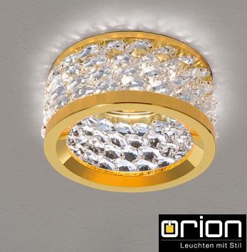 vgradna-kristalna-zlata-svetilka-klasična