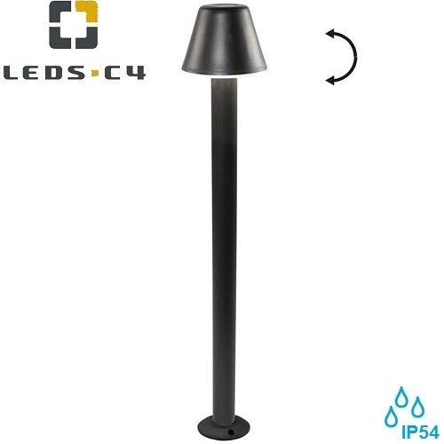 zunanja-dizajnerska-stoječa-svetilka-stebriček-e27-ip54