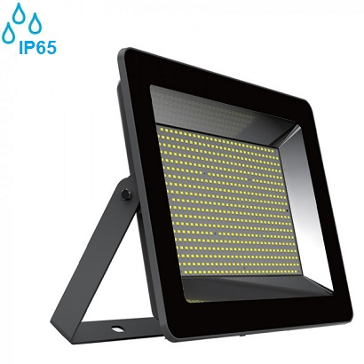 industrijski-zunanji-led-reflektorji-100w-ip65-črni-slim-3000k-4000k