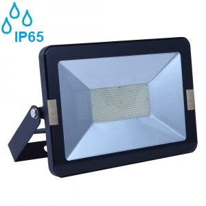 industrijski-zunanji-led-reflektorji-150w-ip65-črni-slim-3000k