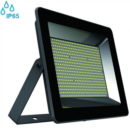 industrijski-zunanji-led-reflektorji-200w-ip65-črni-slim-3000k-4000k
