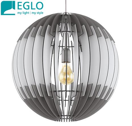 viseča-svetilka-iz-lesenih-lamel-ploščic-eglo-lestenec-fi-400-mm