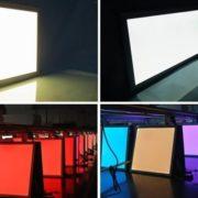 NADGRADNI LED PANEL SARSINA-C fi 800 mm RGB+NASTAVLJIVA SVETLOBA OD 2700K DO 6500K