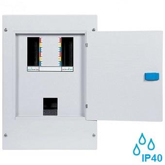 nadometna-kovinska-razdelilna-elektro-omarica-vodotesna-ip40-trofazna-troredna-trovrstna-štirimestna