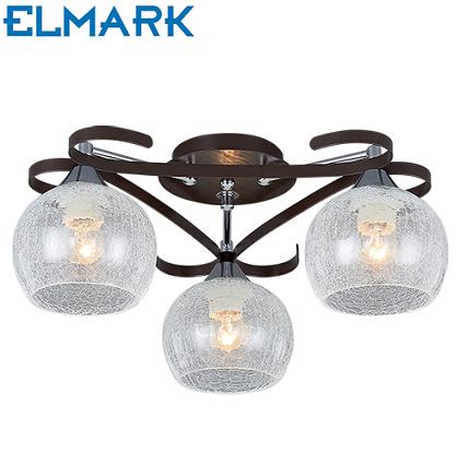 trojna-stropna-klasična-svetilka-elmark