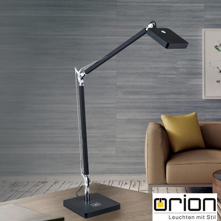 delovna-bralna-namizna-led-svetilka-z-brezžičnim-wi-fi-polnilcem-za-mobilni-telefon-črna