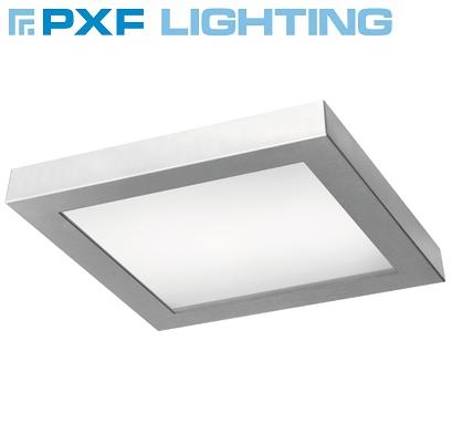 kvadratna-led-svetilka-plafonjera-inox-pxf-lighting-400x400-mm