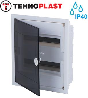 podometne-razdelilne-elektro-vgradne-omarice-tehnoplast-dvoredne-dvovrstne-u24-a-ip40-transparentna-prozorna-vrata