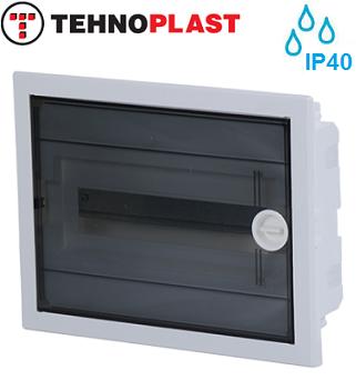 podometne-razdelilne-elektro-vgradne-omarice-tehnoplast-enoredne-enovrstne-u12-a-ip40-transparentna-prozorna-vrata