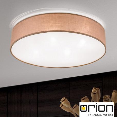 stropne-tekstilne-svetilke-luči-plafonjere-rjava-tkanina-orion