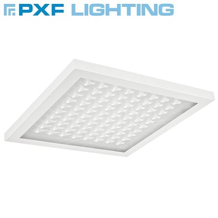 viseča-vgradna-nadgradna-zasilna-led-svetila-za-pisarne-600x600-mm-pxf-lighting-opalni-mikroprizmatični-difuzor