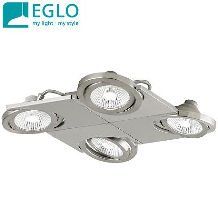 četverni-stropni-led-spot-reflektor-eglo-svetila-brušen-nikelj