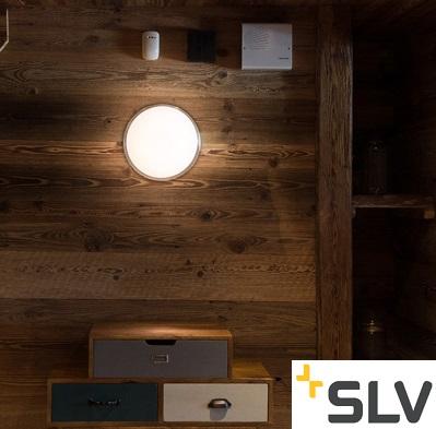 STROPNO STENSKA ZATEMNILNA LED SVETILKA MARONA fi 300 mm 15W 3000K