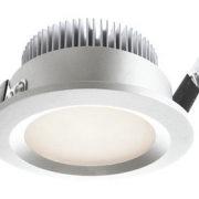 VGRADNA LED SVETILKA fi 101 mm 9W 3000K IP44 V TREH BARVAH