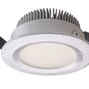 VGRADNA LED SVETILKA fi 101 mm 6W 3000K IP44 V TREH BARVAH