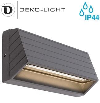 zunanja-nadometna-stenska-led-svetilka-za-osvetlitev-fasade-ograje-škarpe-sveti-navzdol-ip44-deko-light
