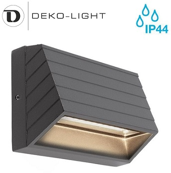 zunanja-nadometna-stenska-led-svetilka-za-osvetlitev-fasade-ograje-škarpe-sveti-navzdol-ip44