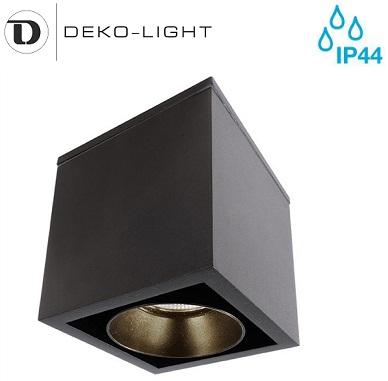 zunanja-stropna-nadometna-led-svetilka-reflektor-deko-light-črni-ip44