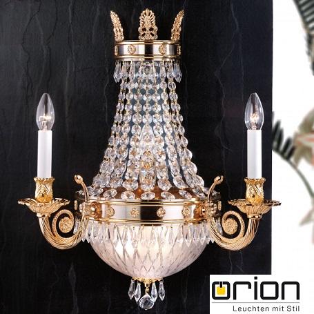 kristalna-stenska-sveilka-luč-orion-graz-scholler-kristal-e14
