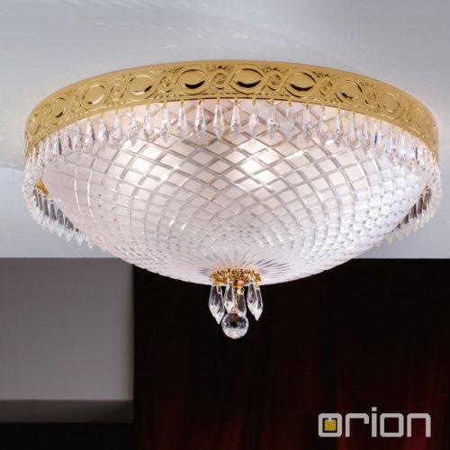 kristalna-stropna-svetilka-scholler-kristal-orion-graz-okrogla-zlata-fi-550