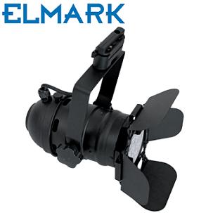led-reflektor-za-enofazno-tokovno-tirnico-e27-par30-cinema-elmark-črni