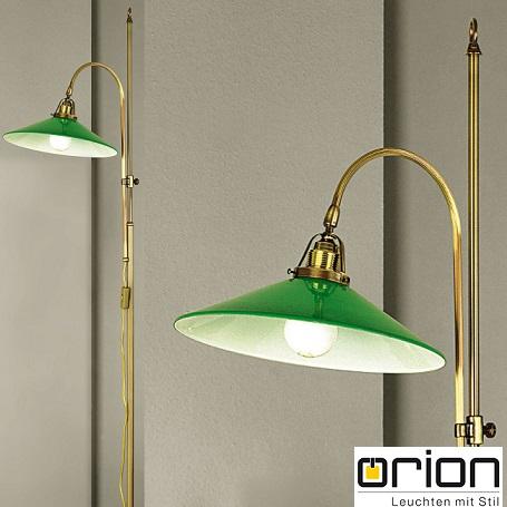 stoječa-starinska-retro-vintage-svetilka-orion-graz-zelena