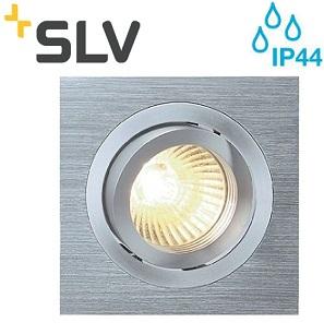 VGRADNA LED SVETILKA TRIA MINI 52X52 mm 4,4W 3000K V TREH BARVAH IP44