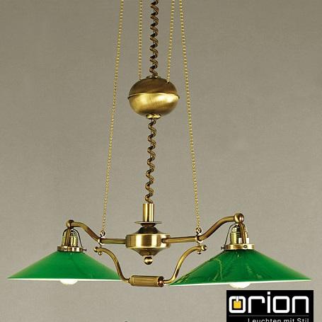 viseči-retro-vintage-lestenec-orion-svetila-graz-zeleni