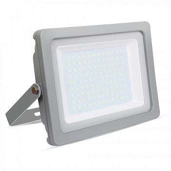 zunanji-industrijski-led-reflektor-100w-ip65-sivi-4000K-6400k
