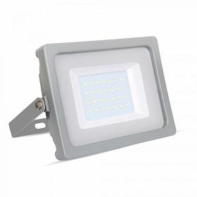 zunanji-industrijski-led-reflektor-30w-ip65-sivi-4000K-6400k