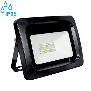zunanji-industrijski-led-reflektorji-100w-ip65-črni-elmark